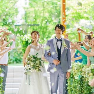 【20周年記念×地元婚応援!】緑溢れるリゾート体験×豪華和洋7品コース