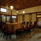 記念館内 春帆楼は日清講和条約締結会場とも言われており、その当時のお部屋・家具・小物がそのまま展示されております。ゲストにも旅行感覚で楽しんでいただけます。