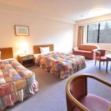 【通常洋室】 八ヶ岳の山々を望むスタンダードな洋室 最高4名様までご利用いただけます 挙式披露宴後のご宿泊もご優待料金にてご案内させていただきます