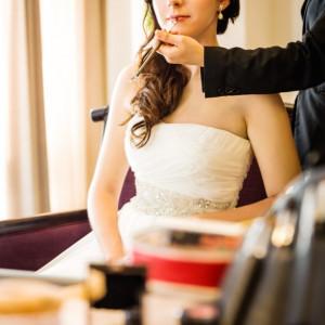 ブライズルームでのひと時は最高の花嫁になる瞬間。 ロイヤルオークホテル スパ&ガーデンズの写真(874242)