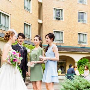 宿泊施設は遠方ゲストが嬉しいおもてなし ロイヤルオークホテル スパ&ガーデンズの写真(874131)