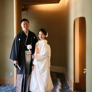 ホテル館内の和撮影スポットは石畳が美しい ロイヤルオークホテル スパ&ガーデンズの写真(2844012)