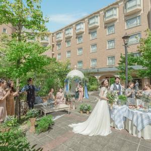 陽気の中で過ごすパーティーもオススメの一つ♪ ロイヤルオークホテル スパ&ガーデンズの写真(6971772)