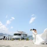 琵琶湖周辺はフォトスポットが沢山!前撮りでゆったりお気に入りの写真を撮りましょう!