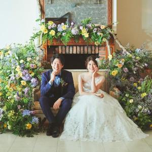 120名様までご着席可能な披露宴会場。天井高6mの開放感あるサロンで、この日の為に選び抜いたドレスや花々に囲まれて幸せな一日を。。。|リストランテASO (ひらまつウエディング)の写真(5396865)