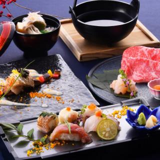 【シェフ特選料理】しゃぶしゃぶ×のどぐろ×寿司試食付き相談会