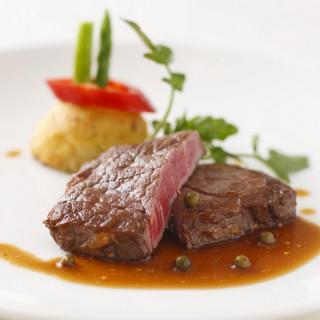 【3組限定】≪牛フィレ肉のポワレ≫豪華フルコースを無料で堪能