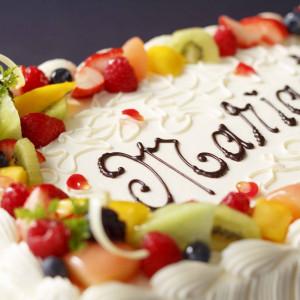 *ウェディングケーキ* おふたりらしさや、こだわりをかたちに…。 成田ビューホテルの写真(1122662)