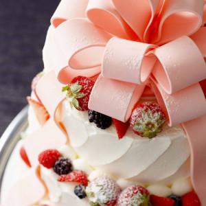 *ウェディングケーキ* 入刀用のケーキや生ケーキをご用意いたします。 成田ビューホテルの写真(1122666)