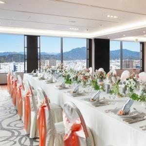 【富士山・駿河湾を一望】ホテルで叶う最上階少人数ウェディング