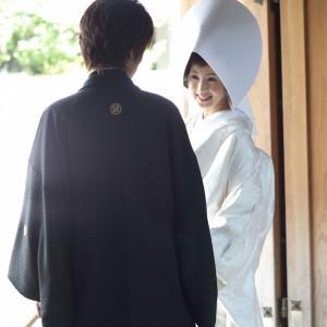 「和婚」といえば、白無垢と紋付袴。日本人に生まれたなら和装を着てみたい・・日本女性のおくゆかしさを際立たせます。 浮月楼の写真(419787)