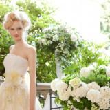 自然美とドレスのシルエットは列席者を魅了できる。