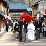 提携神社・茶婚式会場のご案内をサポート