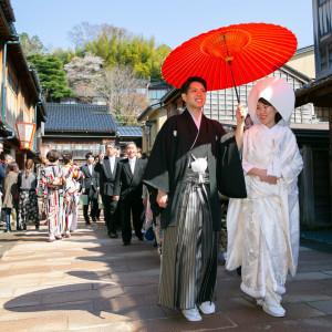 【3密対策◎仮予約OK】初めてでも安心◆和婚派!有名神社見学×ランチ付