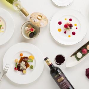 【満足度NO.1】料理重視派!婚礼フルコース試食会