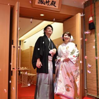 【和婚】神社挙式やチャペル挙式&和装でお色直しもOK【平日】