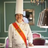 【料理・オーベルジュウエディング】厚生労働大臣賞や千葉県知事賞等、数々のコンクールで受賞した名シェフによる逸品。