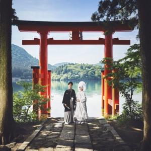 【箱根神社】伝統と格式のある本物の神前挙式|湯本富士屋ホテルの写真(5285812)