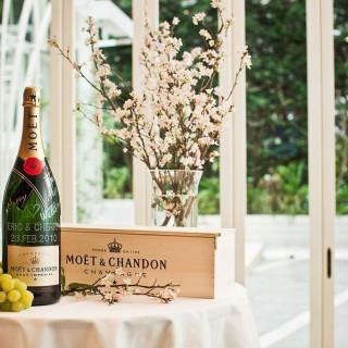"""フェアに御参加で御成約のお客様のお土産に""""モエ・エ・シャンドン""""シャンパンをプレゼント!!"""