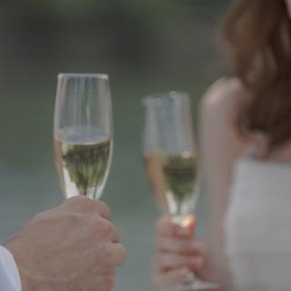 【年内に結婚式を挙げられる方限定】ドリンクメニュー1ランクアップ☆