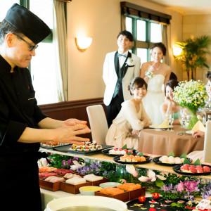 【挙式&延期料無料】黒毛和牛&本鮪中とろ寿司付24,000円フルコース