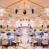 エルメスグループ「サン・ルイ」のシャンデリアが華やかに彩るロイヤルパールルーム。2018年3月リニューアルオープン。