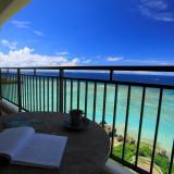 ホテル宿泊部屋からの眺望