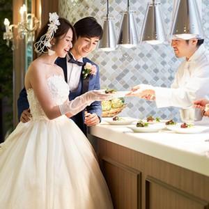 <少人数限定>稲佐山の絶景!オープンキッチン付の贅沢美食W