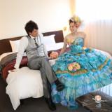 お二人の空間で美しい花嫁に
