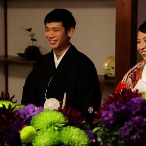 大切な人たちと過ごす時間だから・・・ とびっきりの笑顔で披露宴を楽しんで♪|長野県護国神社の写真(904205)