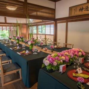 77年の歴史を刻んだ独立建造物の「Saikan~齋館~」 完全プライベート空間で、大切な家族と最高のひとときを・・・|長野県護国神社の写真(1027011)