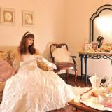 ゆったりくつろげるプライベート空間で結婚式のお仕度を・・・