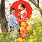 春には 桜と菜の花と共に優雅なショットが撮れます☆