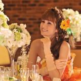 花嫁×Smile×オレンジ
