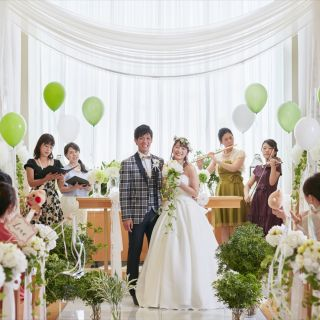 【はじめて来館のカップル限定】「婚礼料理プレート試食」もしくは「レストランバイキング」をプレゼント!