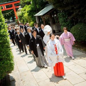 開運招福の神様に見守られて地元で親しまれている神社にて行う、神前結婚式。 八王子ホテルニューグランド(グランドビクトリア八王子)の写真(3898458)