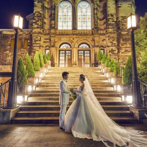 ロマンティックなナイトウェディング キャンドルや特別なご演出で挙式を彩ってみて 八王子ホテルニューグランド(グランドビクトリア八王子)の写真(3144379)