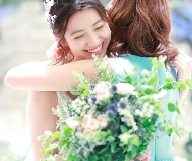 「大切な人たちの記憶に残る結婚式を創ろう」がリッツファイブのテーマ。忘れられない瞬間をおふたりとゲストに届ける。