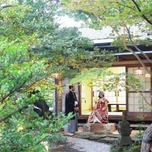 美しい枯山水の日本庭園を備えた情緒あふれる空間|料亭 三光園の写真(7941129)