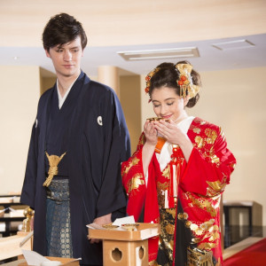 【敷地内に神殿あり♪】古式ゆかしき和装姿を☆和婚相談会