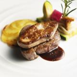 黒毛和牛フィレ肉とフォアグラステーキ