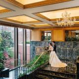 ホテルロビー奥に広がる空間は花嫁の憧れの場所