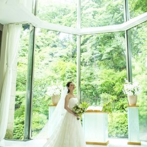 #ルミエールチャペル #ウエディングドレス ホテル椿山荘東京の写真(2859541)