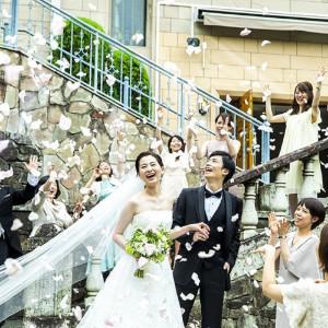 #フラワーシャワー #祝福 #チャペル ホテル椿山荘東京の写真(2859827)