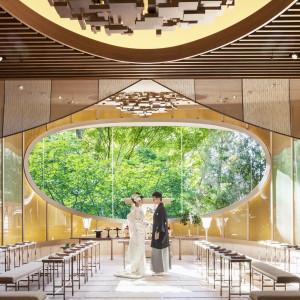 光×緑×独立型の神殿で挙式体感&無料試食フェア
