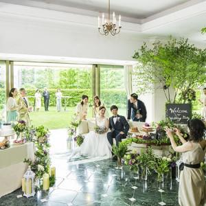 #プライベートガーデン #デザートビュッフェ #ウエディングパーティー ホテル椿山荘東京の写真(2859834)