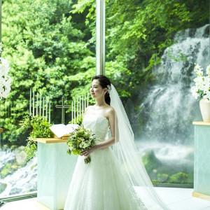 #チャペル #ルミエール #緑の中のチャペル ホテル椿山荘東京の写真(2859543)