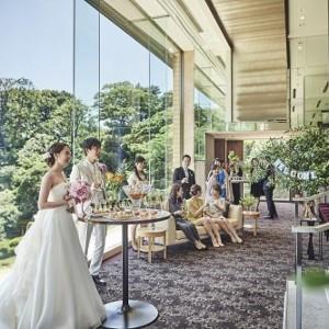 ワンフロア貸切・庭園パノラマビュー◆アットホームウエディング相談会