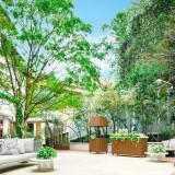 開放的な専用ガーデン