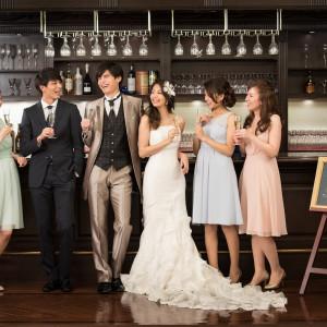 【ミューズバー】は二次会会場としても大人気!ご結婚式当日は一日中ベルクラシック東京でお楽しみくださいませ♪|ホテルベルクラシック東京の写真(1826555)
